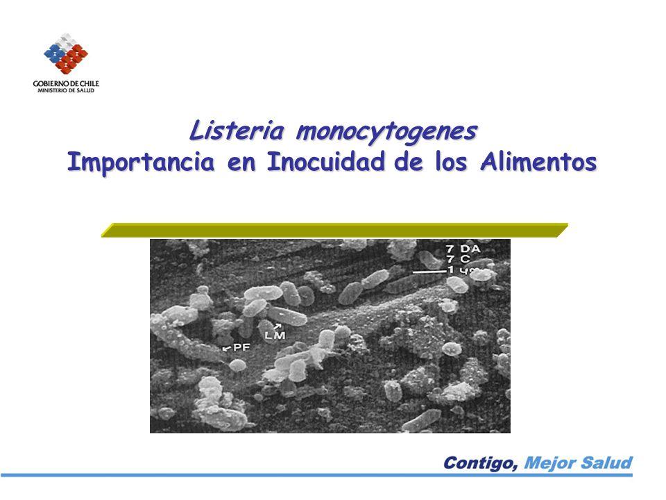 Listeria monocytogenes Importancia en Inocuidad de los Alimentos