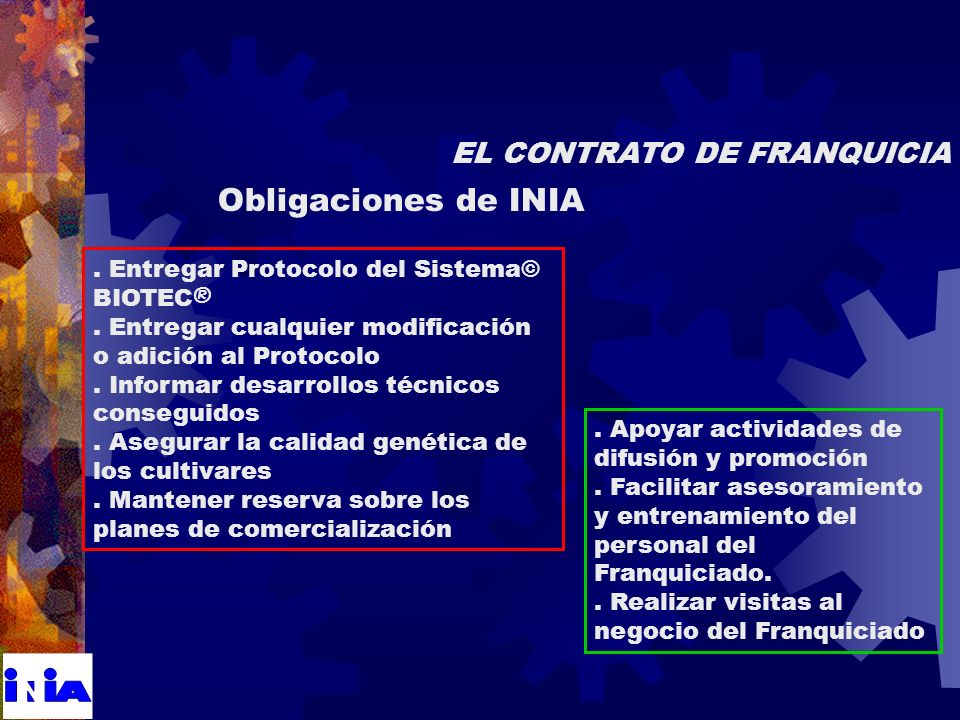 Entregar Protocolo del Sistema© BIOTEC ®. Entregar cualquier modificación o adición al Protocolo.