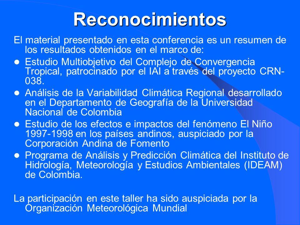 Reconocimientos El material presentado en esta conferencia es un resumen de los resultados obtenidos en el marco de: Estudio Multiobjetivo del Complej