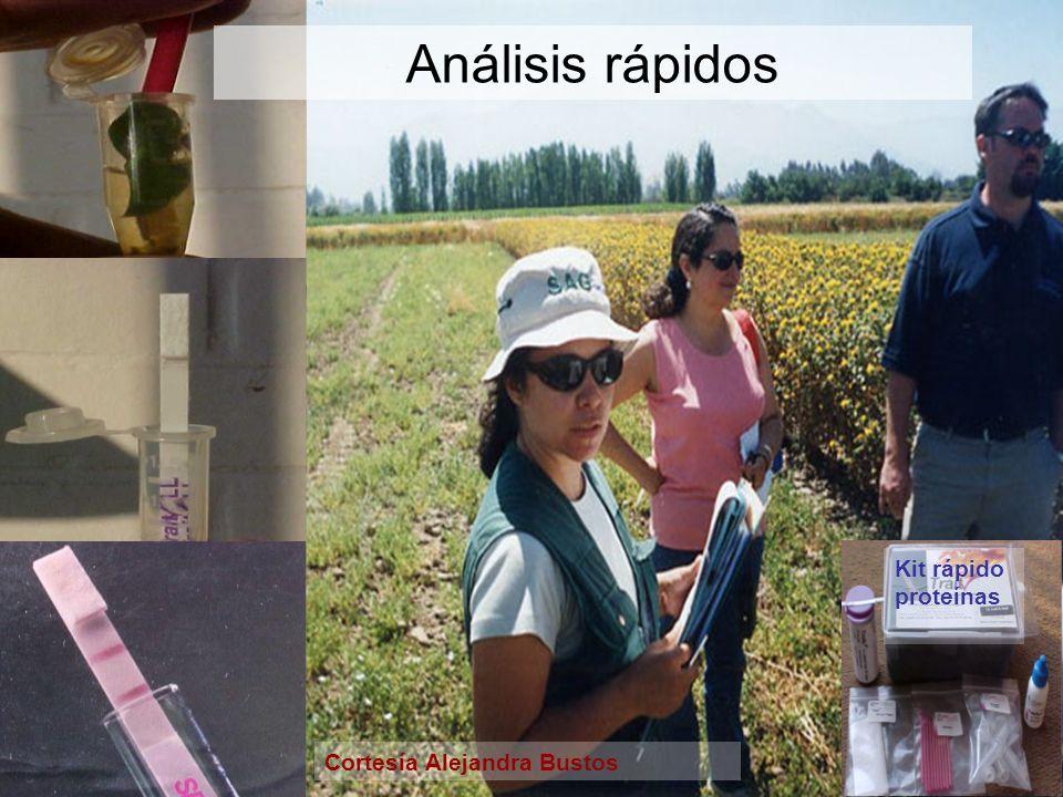 Análisis rápidos Kit rápido proteínas Cortesía Alejandra Bustos