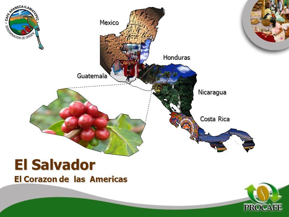 Honduras Guatemala Mexico Nicaragua Costa Rica El Salvador El Corazon de las Americas