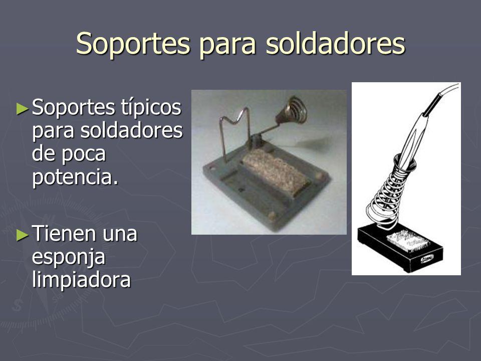 Proceso de soldadura La resina del estaño, al tocar las superficies calientes, alcanza el estado semilíquido y se distribuye por la superficie de la soldadura.