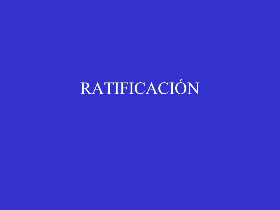RATIFICACIÓN