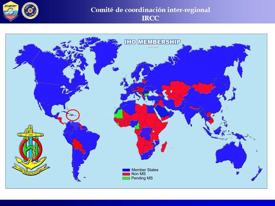 COMISIONES HIDROGRÁFICAS REGIONALES Comité de coordinación inter-regionalIRCC
