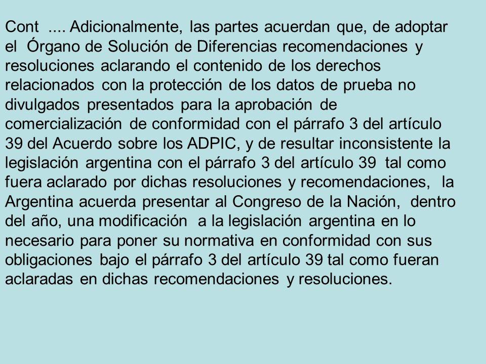 SOLUCION MUTUAMENTE CONVENIDA USA- ARGENTINA WT/DS 196 – notificado 31 de mayo de 2002.....9.