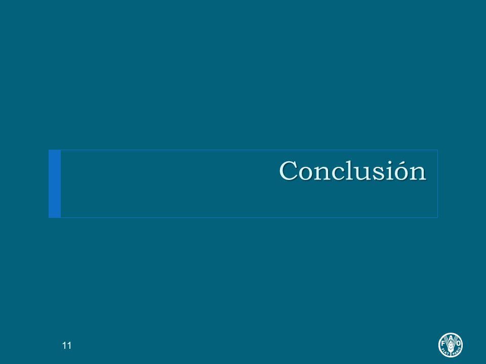 Conclusión 11