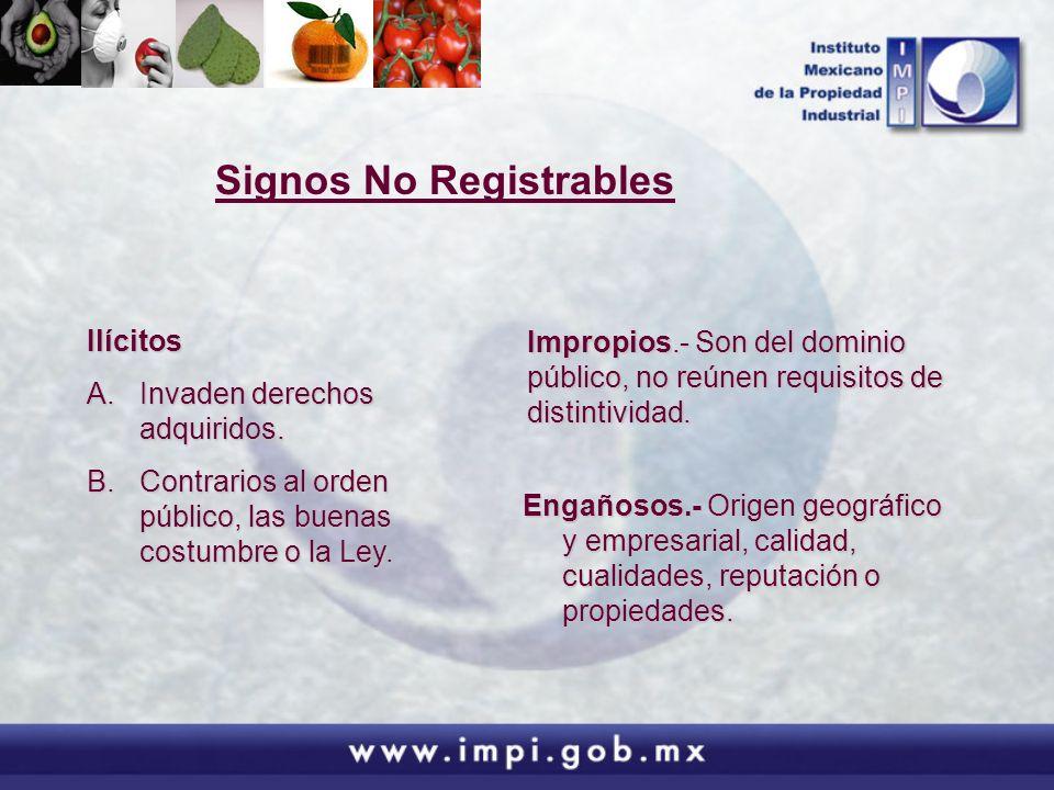 Posibilidad de anular el registro Ley de la Propiedad Industrial (ARTICULO 151) El registro de una marca será nulo cuando: I.- Se haya otorgado en contravención de las disposiciones de esta Ley o la que hubiese estado vigente en la época de su registro.
