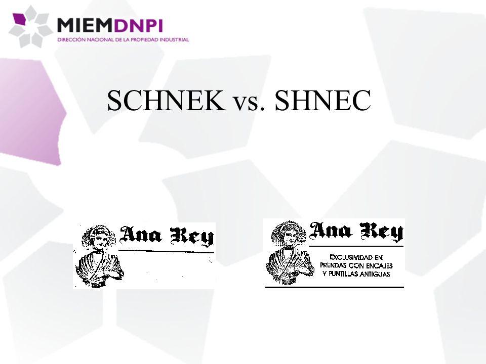 SCHNEK vs. SHNEC