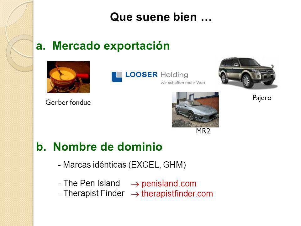 penisland.com therapistfinder.com - The Pen Island - Therapist Finder b. Nombre de dominio a. Mercado exportación Gerber fonduePajero - Marcas idéntic