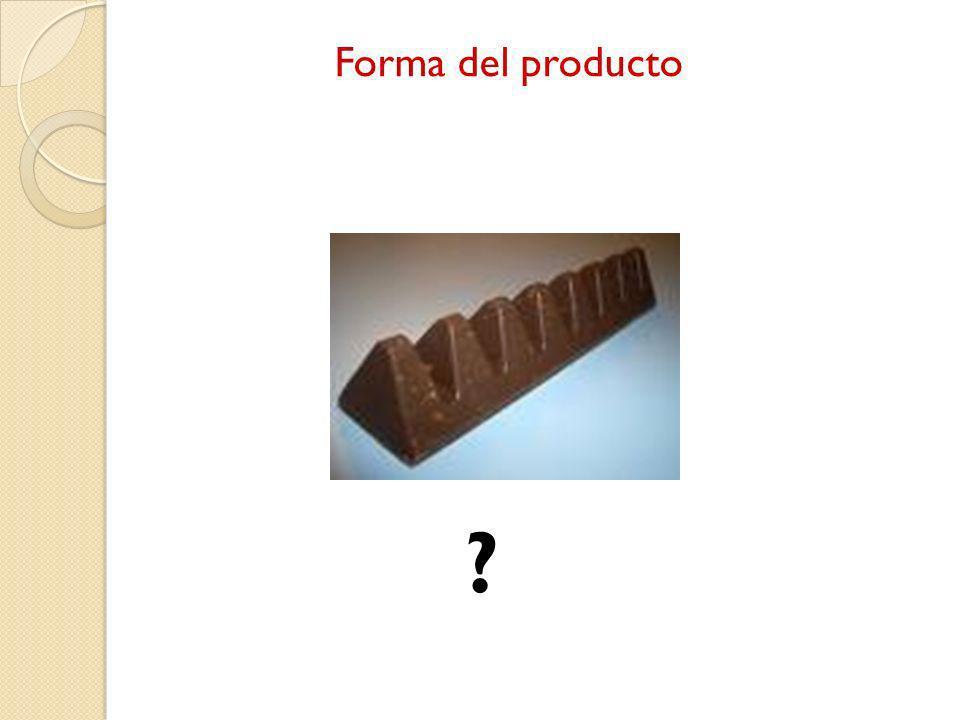 Forma del producto ?
