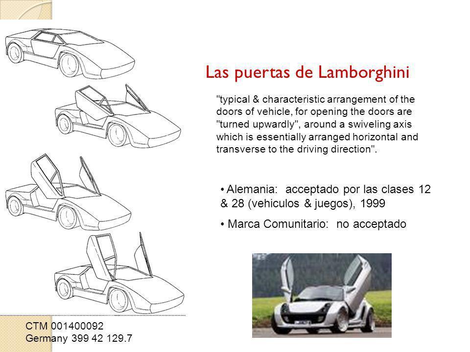Las puertas de Lamborghini CTM 001400092 Germany 399 42 129.7