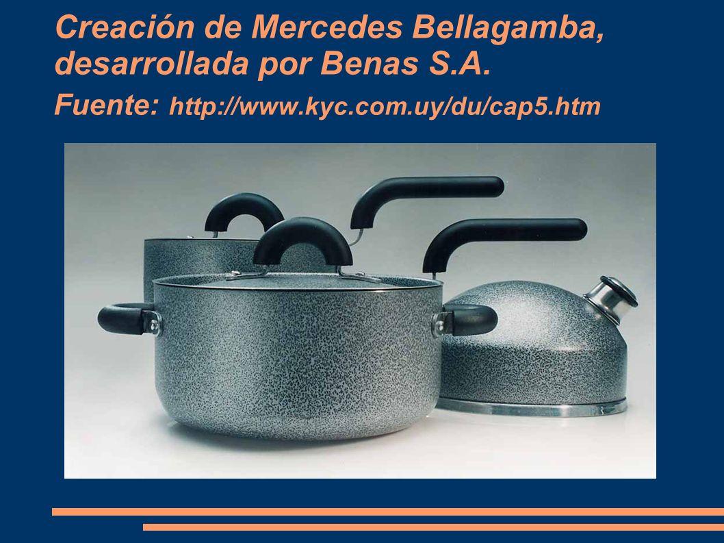 Creación de Mercedes Bellagamba, desarrollada por Benas S.A. Fuente: http://www.kyc.com.uy/du/cap5.htm
