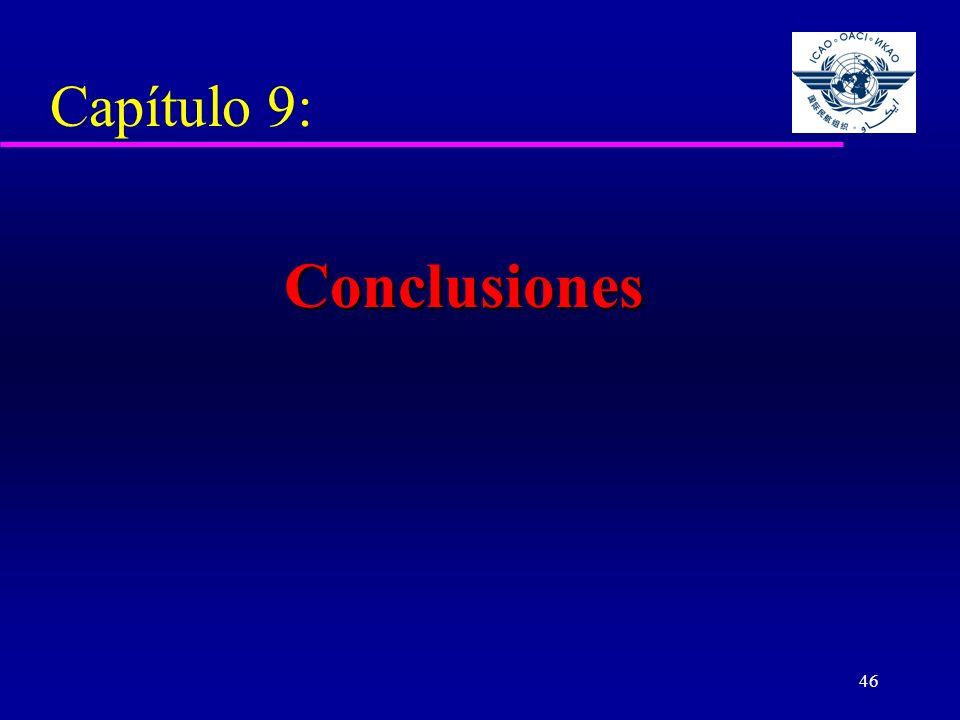 46 Capítulo 9: Conclusiones
