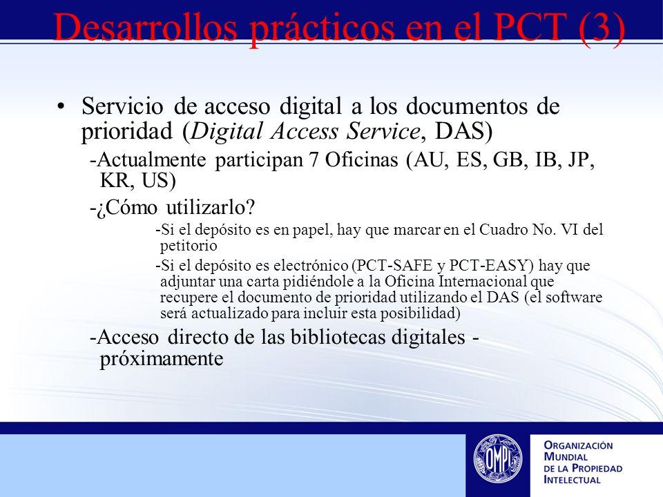 Servicio de acceso digital a los documentos de prioridad (Digital Access Service, DAS) -Actualmente participan 7 Oficinas (AU, ES, GB, IB, JP, KR, US) -¿Cómo utilizarlo.