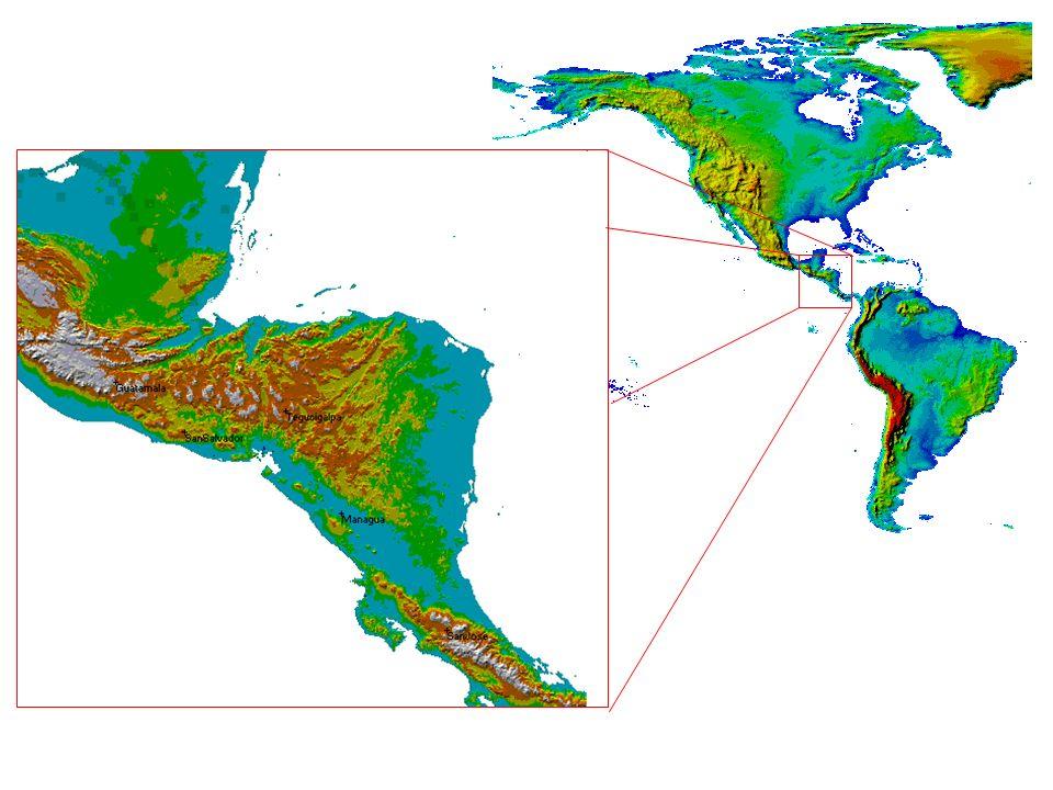 El Servicio a la Navegación Aérea Las rutas aéreas en Centroamérica están basadas en equipos NDB y VOR/DME.