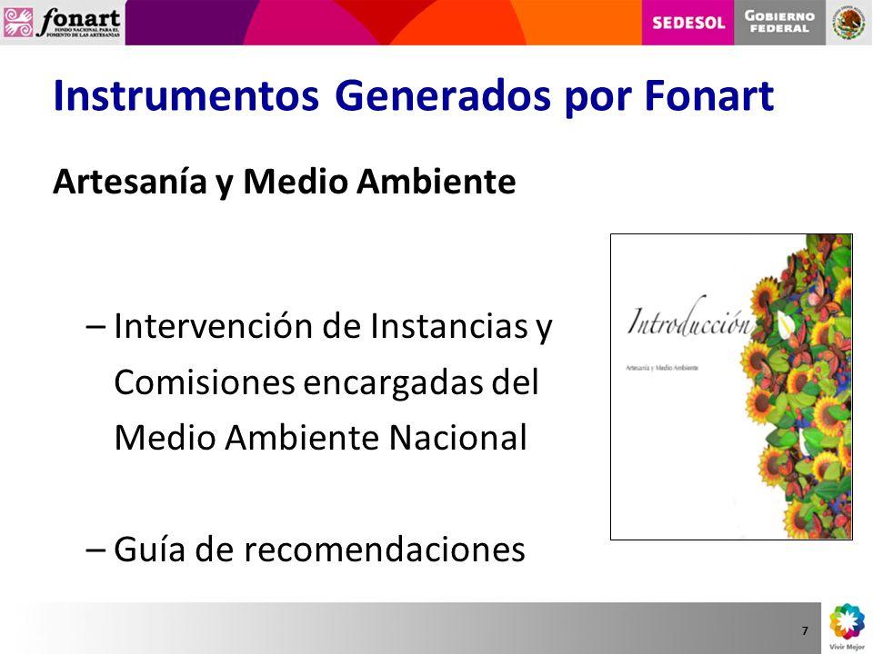 www.fonart.gob.mx Directorio Noticias Programas Sociales Galería de Imágenes Reglas de Operación Información Relevante 18
