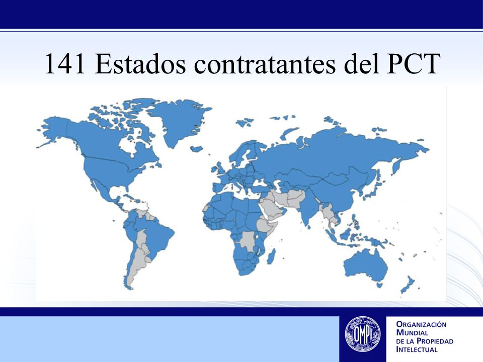 141 Estados contratantes del PCT