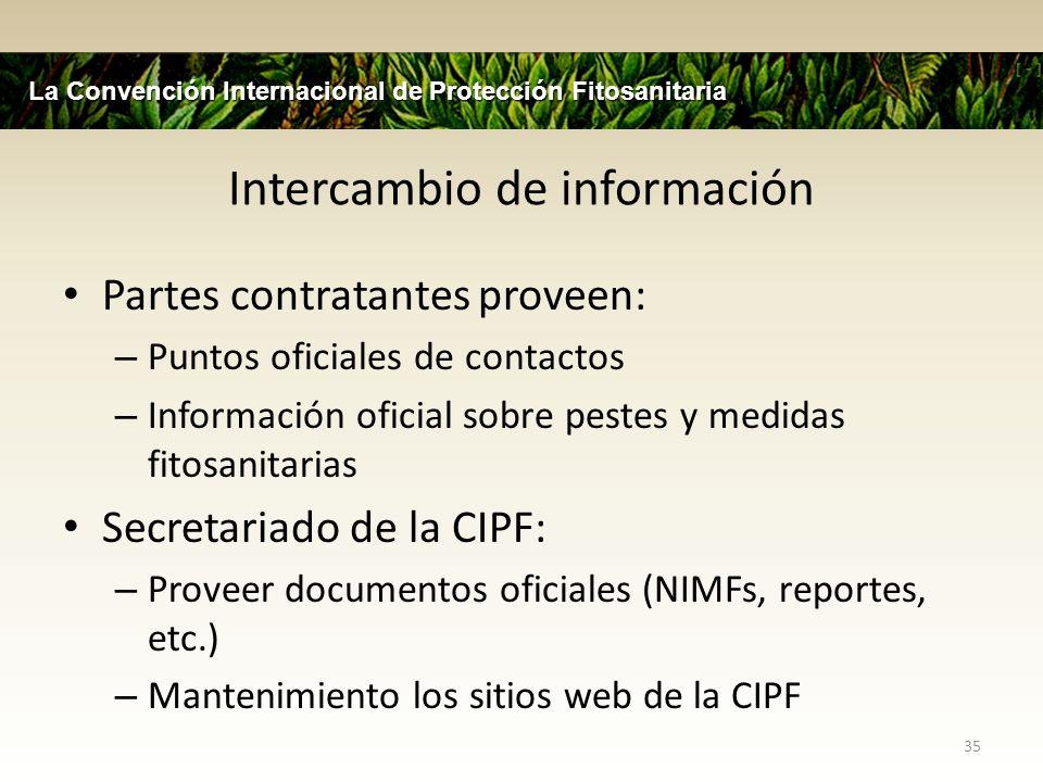 Asistencia Técnica Personal de la CIPF proveerá soportes fitosanitarios a: – FAO programas de cooperación técnica (TCPs) – Talleres Ad-hoc (e.g.