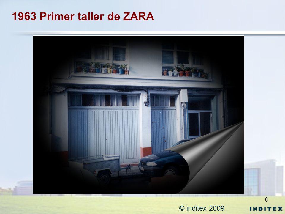 6 1963 Primer taller de ZARA