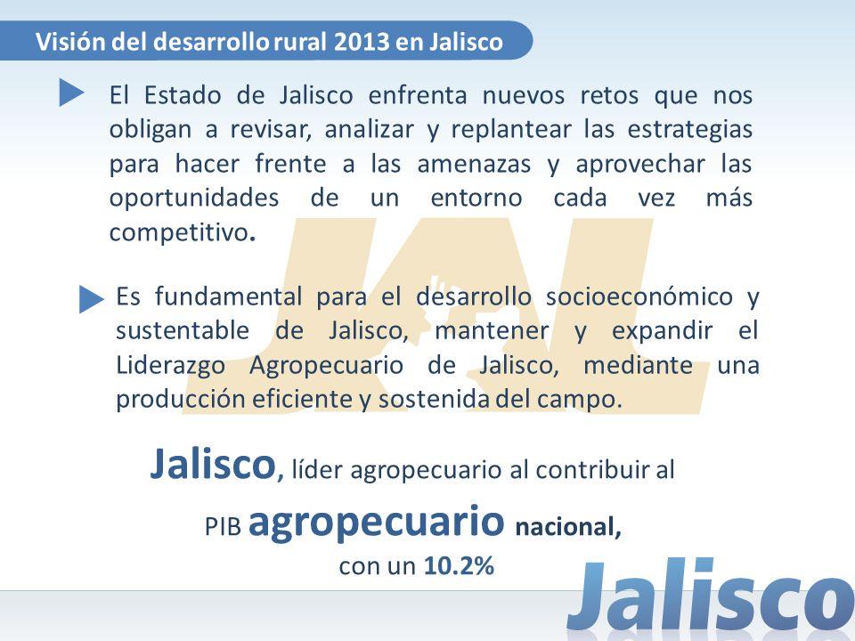 El Estado de Jalisco enfrenta nuevos retos que nos obligan a revisar, analizar y replantear las estrategias para hacer frente a las amenazas y aprovec
