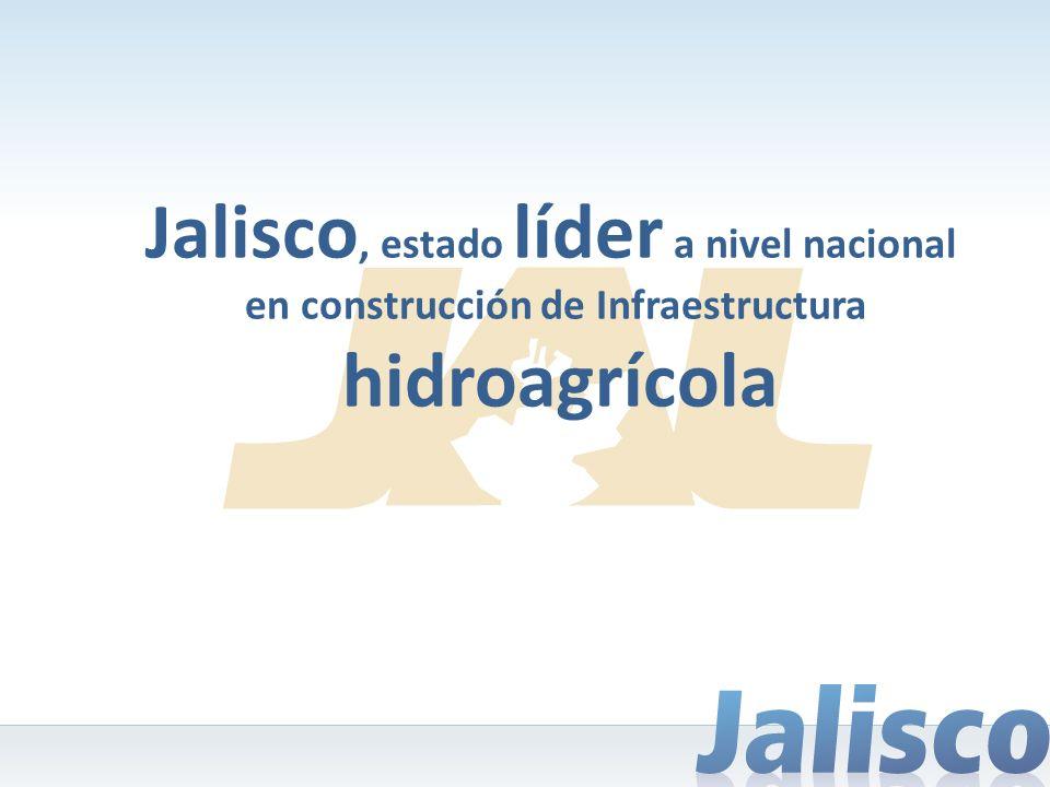 Jalisco, estado líder a nivel nacional en construcción de Infraestructura hidroagrícola