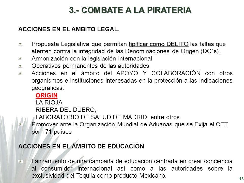 13 ACCIONES EN EL AMBITO LEGAL. tipificar como DELITO Propuesta Legislativa que permitan tipificar como DELITO las faltas que atenten contra la integr