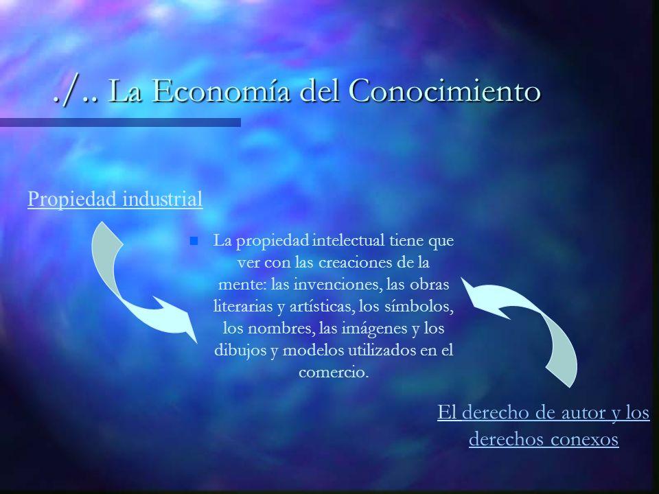 La propiedad intelectual tiene que ver con las creaciones de la mente: las invenciones, las obras literarias y artísticas, los símbolos, los nombres, las imágenes y los dibujos y modelos utilizados en el comercio.