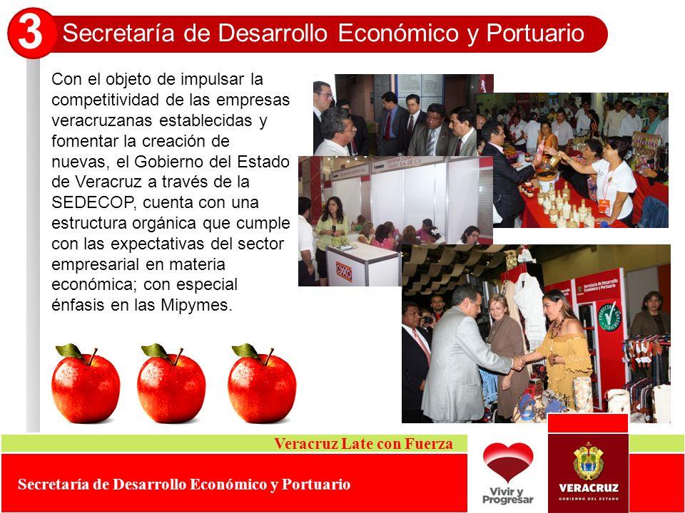 Con el objeto de impulsar la competitividad de las empresas veracruzanas establecidas y fomentar la creación de nuevas, el Gobierno del Estado de Vera