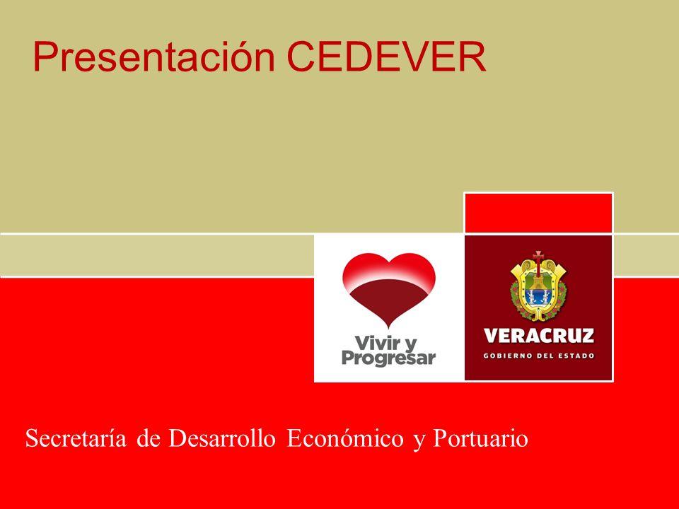Presentación CEDEVER Secretaría de Desarrollo Económico y Portuario