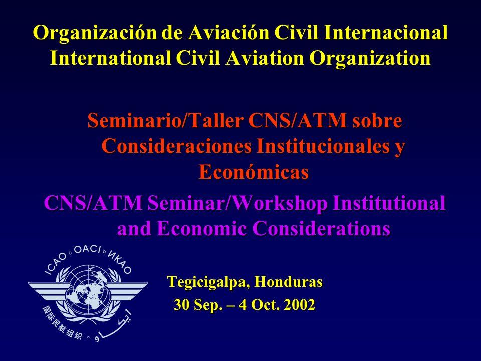 EXPERIENCIAS SOBRE ARREGLOS INSTITUCIONALES CNS/ATM EN LA REGIÓN CAR Por: Ing.