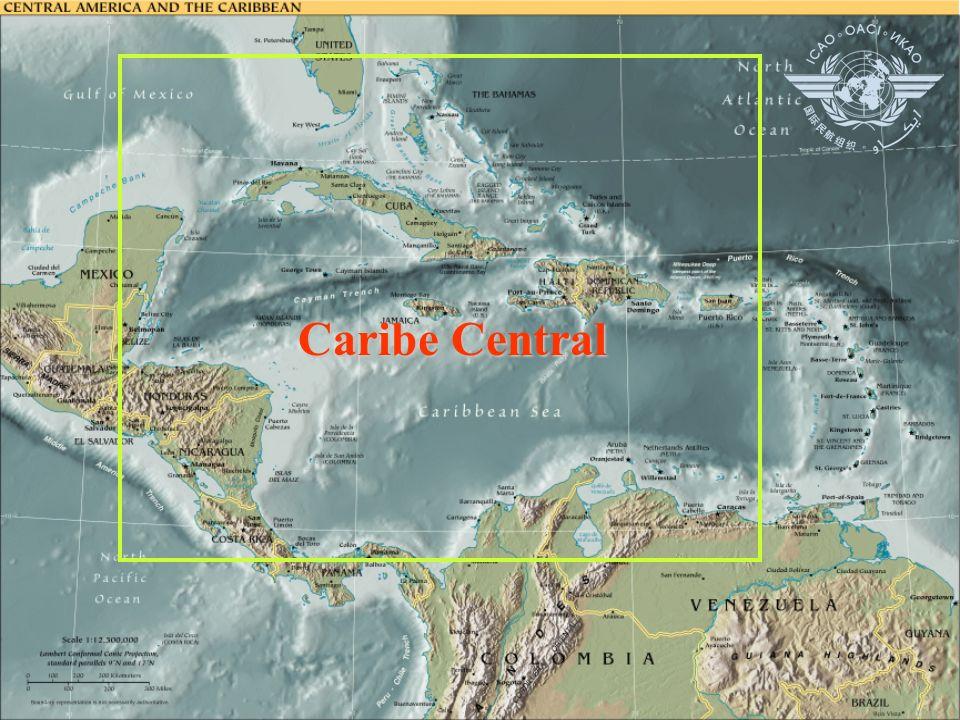 Instalaciones y servicios multinacionales en el Caribe Central Caribe Central