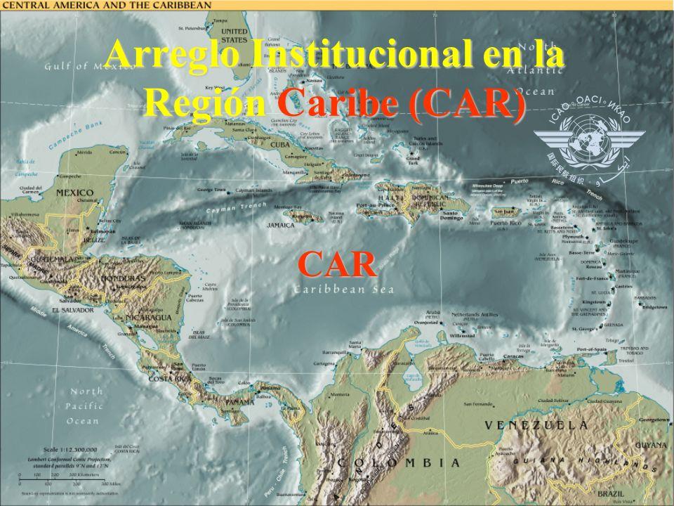 Arreglo Institucional para la FIR de Centroamérica FIRCENAMER COCESNA COCESNA – Coorporación Centroamericana de Servicios de Navegación Aérea Central American Organization of Air Navigation Services