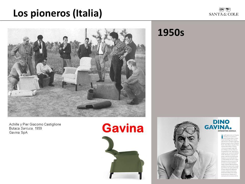 Los pioneros (Italia) 1950s Achille y Pier Giacomo Castiglione Butaca Sanluca, 1959 Gavina SpA Gavina