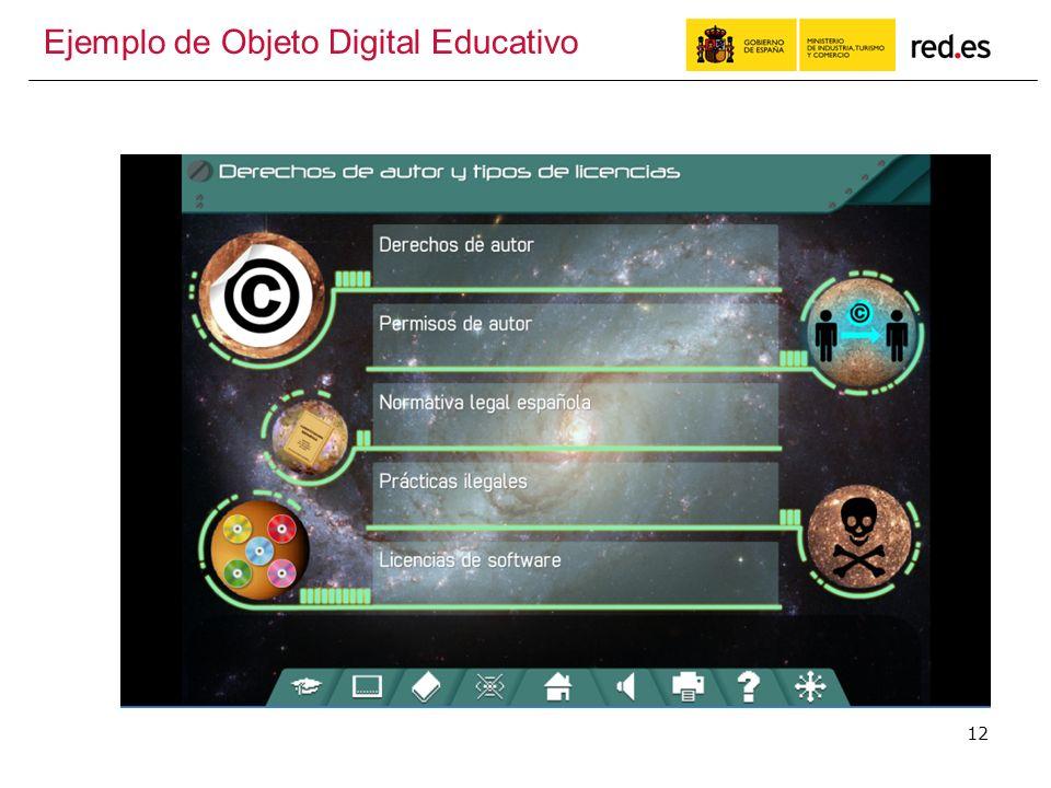 12 Ejemplo de Objeto Digital Educativo