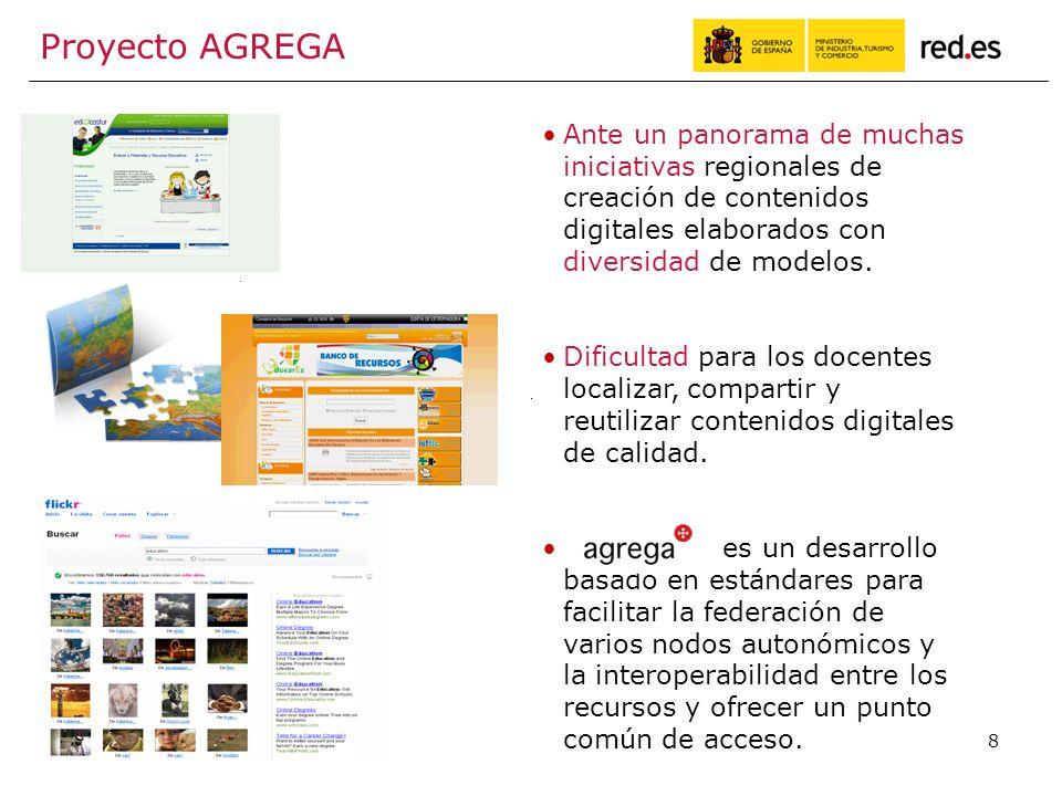 8 Ante un panorama de muchas iniciativas regionales de creación de contenidos digitales elaborados con diversidad de modelos.