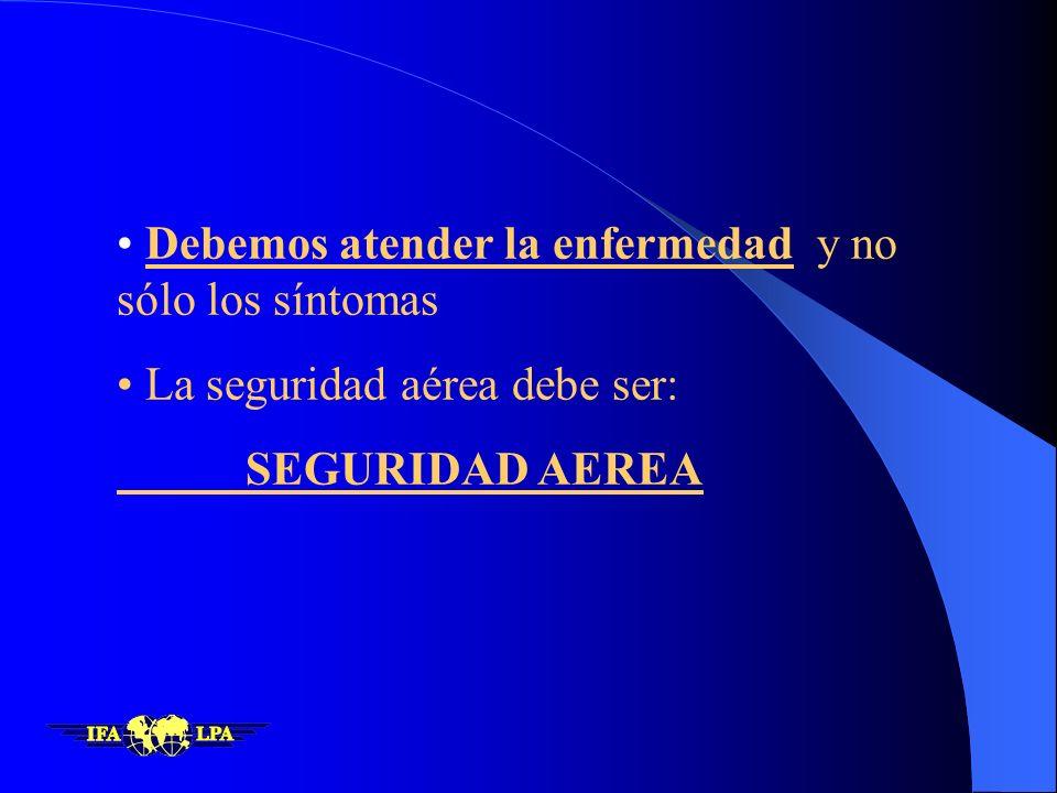 La situación de la Seguridad Aérea en América Latina y el Caribe es la mayor preocupación regional para IATA y las aerolíneas IATA 02/97 ¿Que pasa en