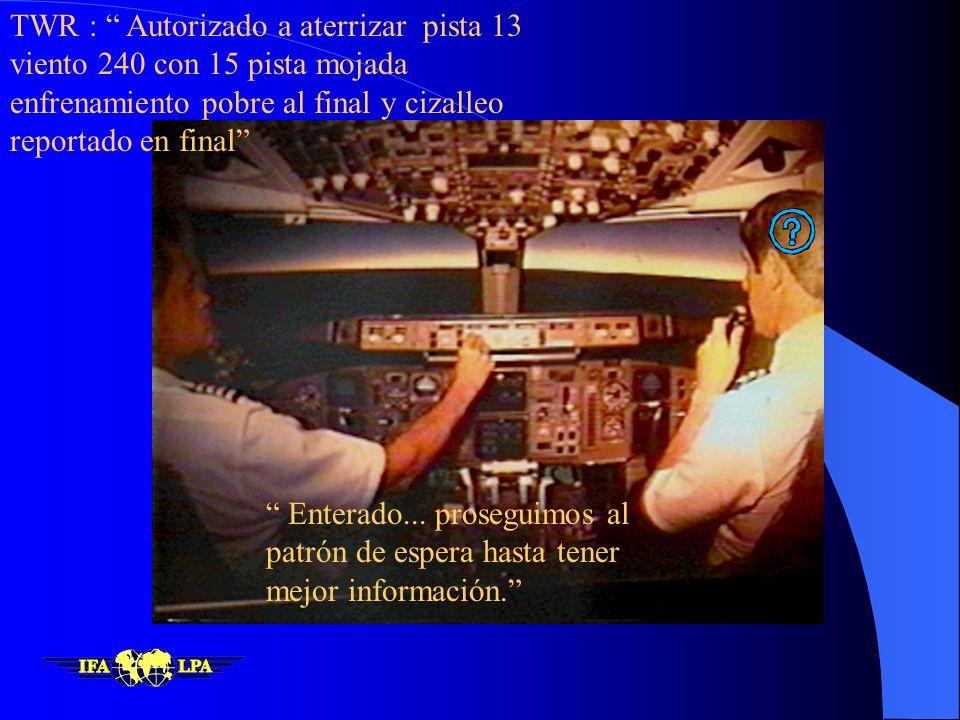 6 al 8 % del tiempo de vuelo 80 % de los accidentes. Factores: gran carga de trabajo toma de decisiones trabajo de equipo, conciencia situacional, com