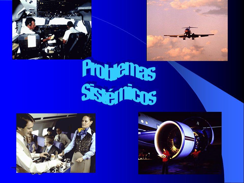 n Operaciones Aéreas –Edad de la flota aérea –Procedimientos –Entrenamiento –Mantenimiento –Despacho y control de vuelos –Falta de cultura de Segurida