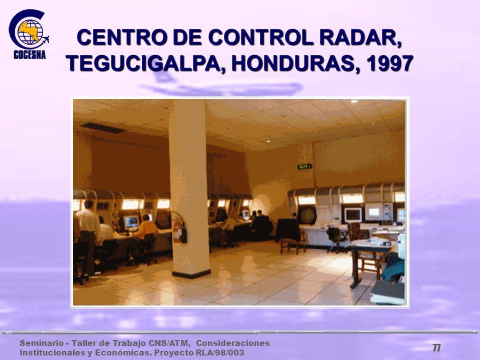 Seminario - Taller de Trabajo CNS/ATM, Consideraciones Institucionales y Económicas. Proyecto RLA/98/003 76 EQUIPO NDB QUE FUNCIONÓ EN COSTA RICA POR