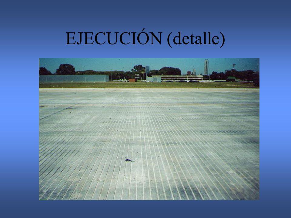 EJECUCIÓN (detalle)