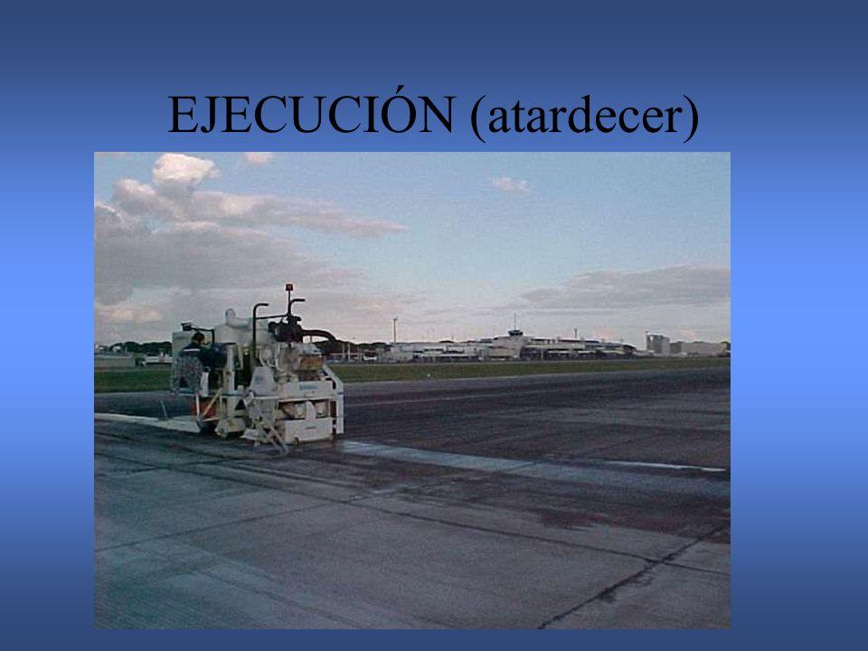 EJECUCIÓN (atardecer)