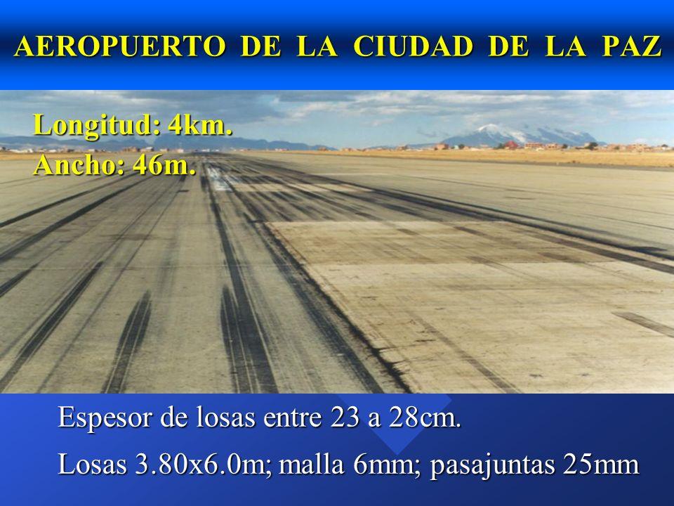 n La Paz, pavimentos antiguos Sopocachi, Miraflores.