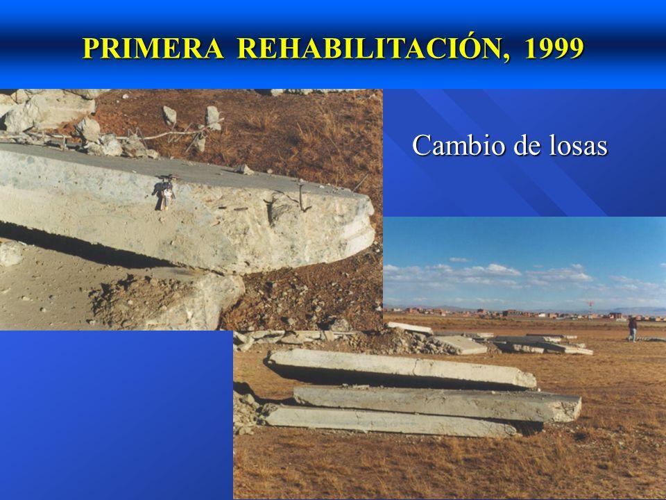 n Cochabamba (ciudad), 1,200,000 m2 construidos en un año n Potosí, varias calles y avenidas