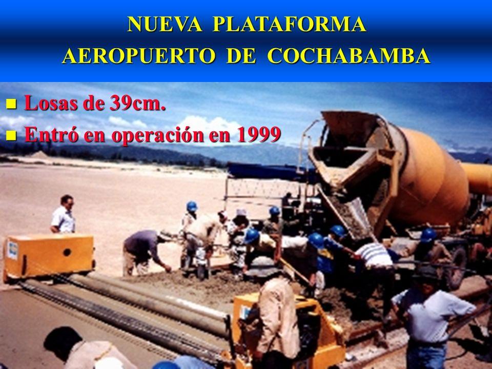AUTOPISTA LA PAZ - EL ALTO Obras adjudicadas en 1974.