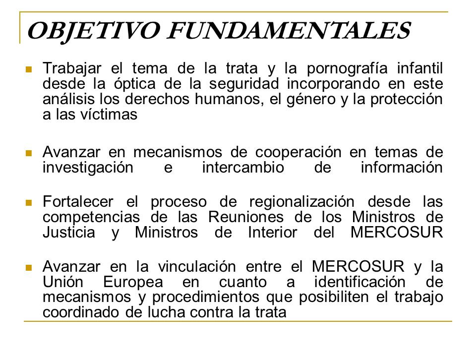 Funcionarios que participan en las comisiones que conforman las Reuniones de Ministros de Justicia y de Ministros de Interior del MERCOSUR y Estados Asociados Jueces, Fiscales y Defensores Oficiales de la República Argentina Funcionarios de las Fuerzas de Seguridad y Policía Federal Argentina DIRIGIDO A