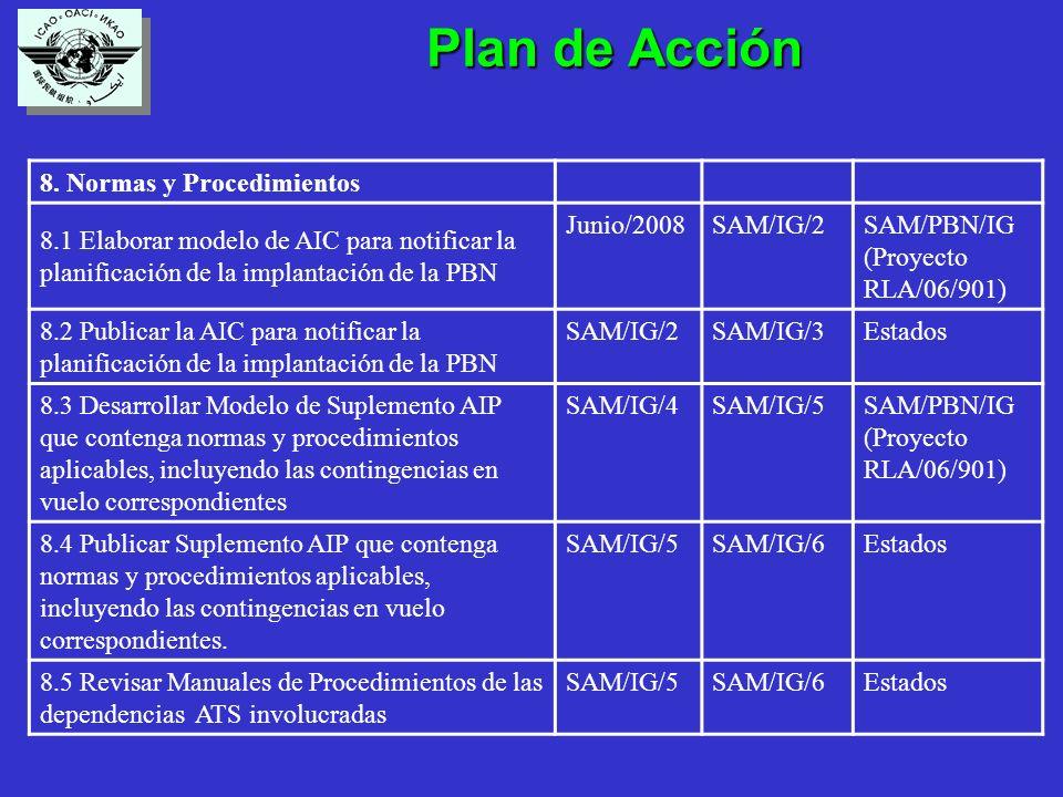 Plan de Acción Plan de Acción 8.