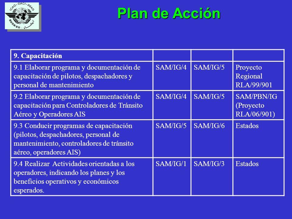 Plan de Acción Plan de Acción 9.