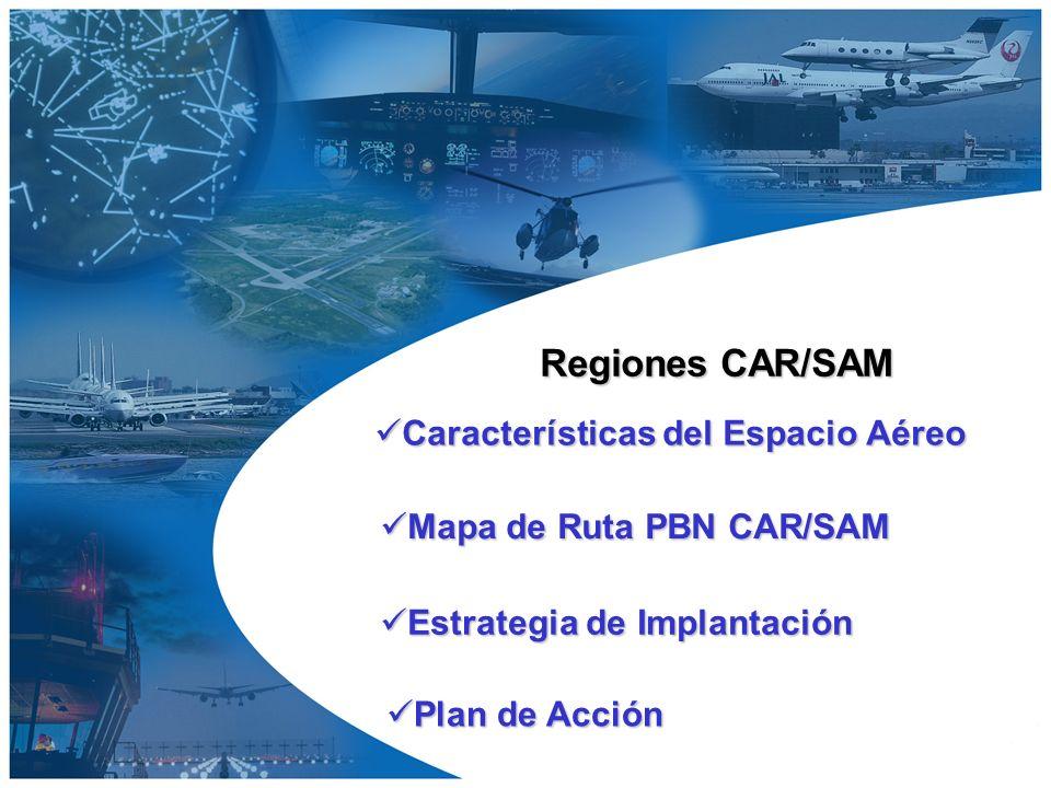 Características del Espacio Aéreo Comunicaciones