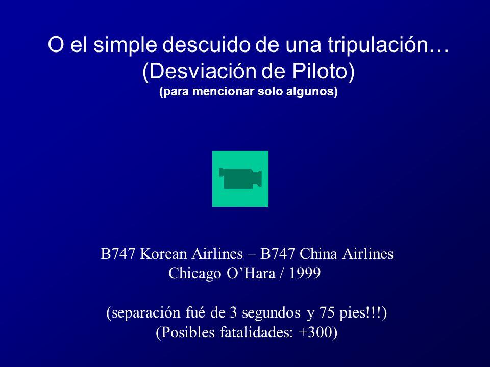A320 Colombia / 2000 (separación fué de aprox. 150 pies!!!) (Posibles fatalidades: +200) Errores operacionales (ATC)…
