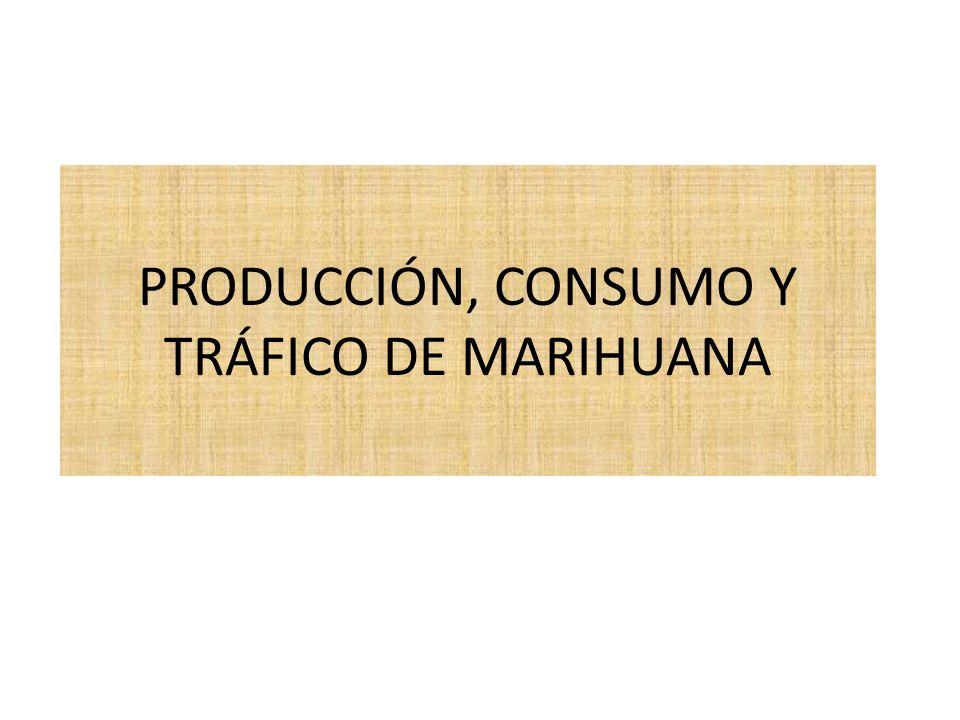 1.Nombre del Curso Producción, consumo y tráfico de marihuana.